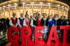 Выступление Shady Glen перед отборочным матчем ЧЕ-2020 по футболу Россия-Шотландия