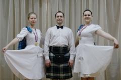 Зимние соревнования по спортивным шотландским танцам - 2016