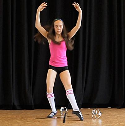 шортики для танцев на девушках фото