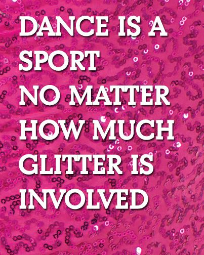 dance is a sport