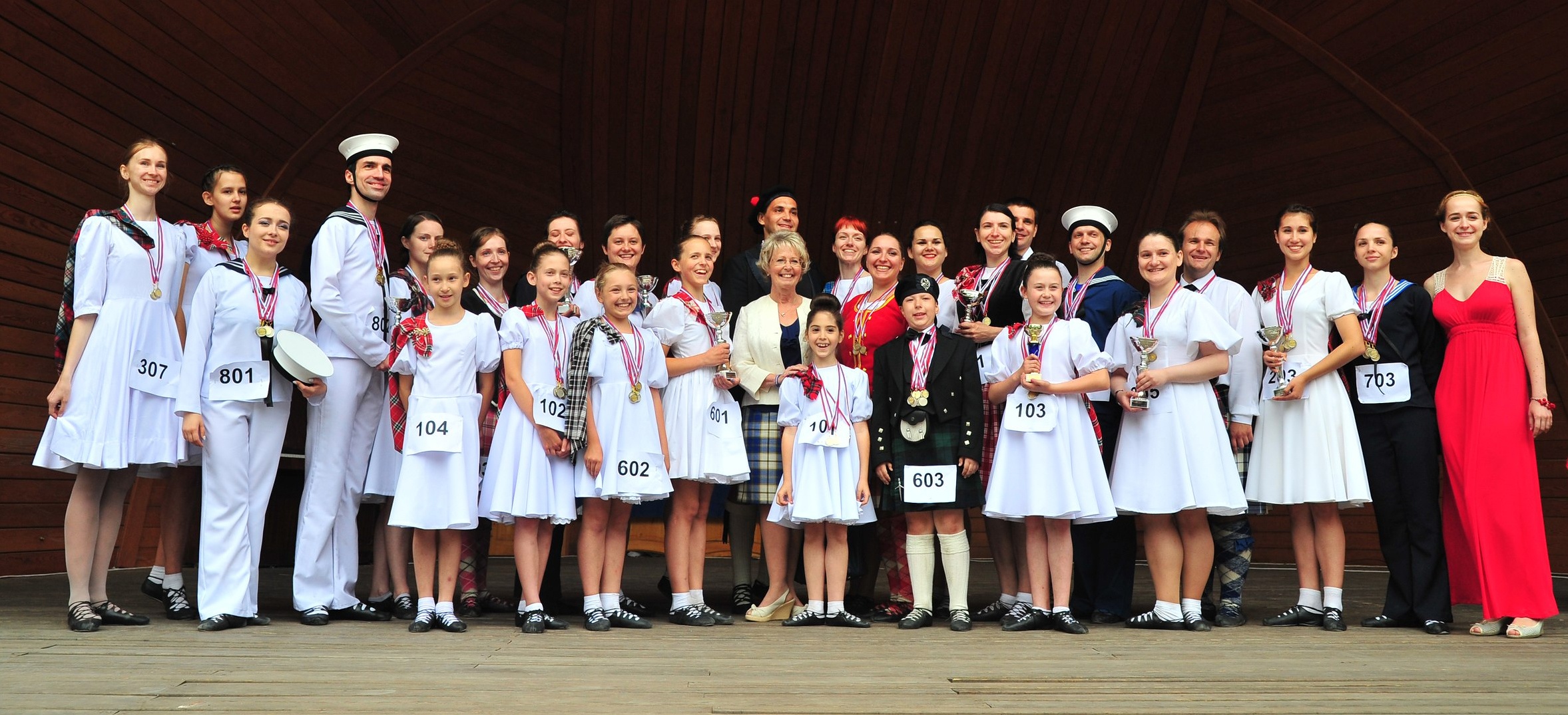 Moscow Highland Dance Competition